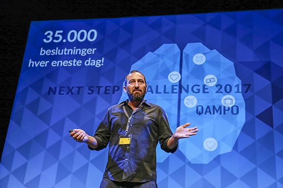 Qampo is alumni from Next Step Challenge