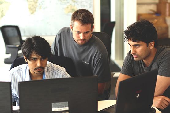 Team working experience economy