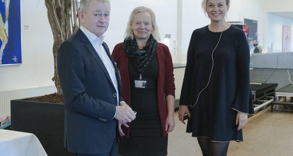 Caroline Søeborg Ahlefeldt, keynote on Disruption