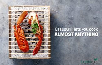 CasusGrill – The ecofriendly way of cooking.