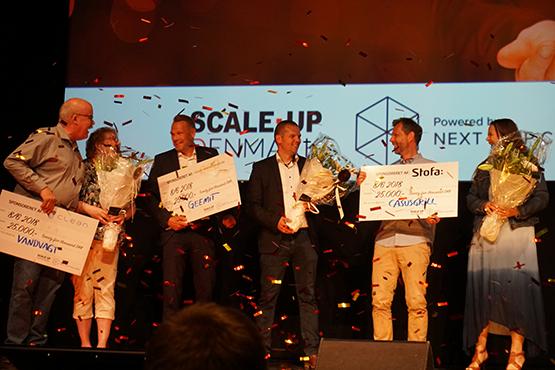 Vandvagt, Geemit og Casusgrill vandt årets Next Step Challenge finale