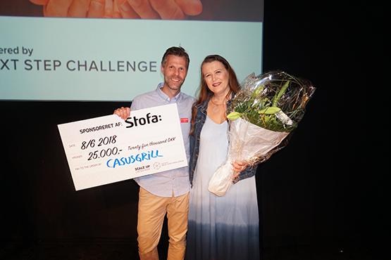 Casusgrill er vinder af Next Step Challenge 2018