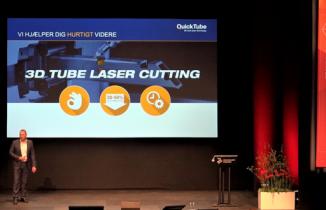 QuickTube – 3D laser tube cut