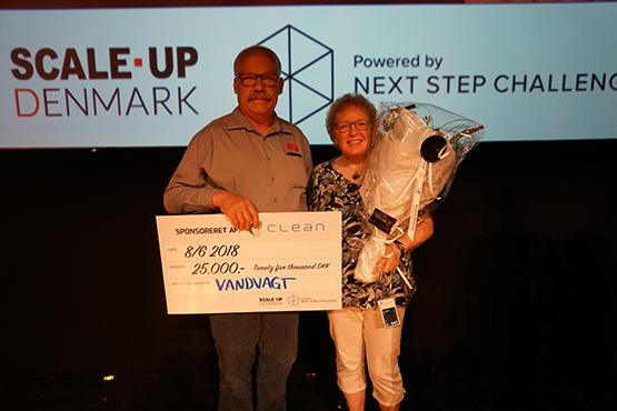 Vandvagt fra THisted vinder Next Step Challenge 2018 Energieffektive Teknologier