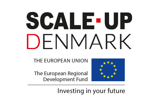 Scale-Up Denmark is funded by the European Regional Development Fund