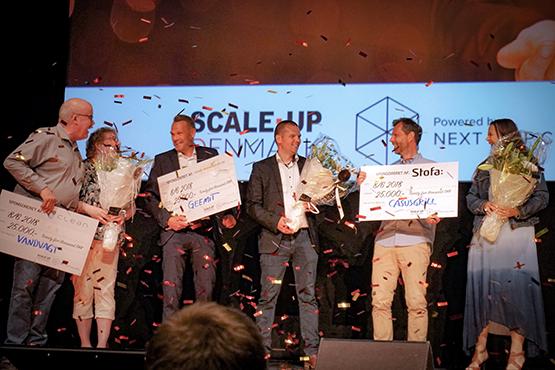 Next Step Challenge finale 2018 CasusGrill, Vandvagt og Geemit