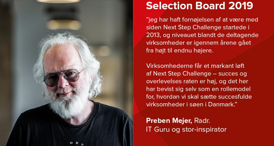 Preben Mejer fra Radr er ITGuru og partner i Next Step Challenge