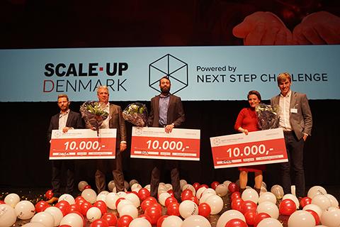 Vinderne i Next Step Challenge 2019