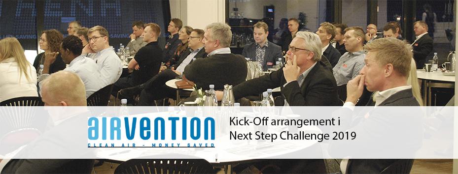 Airvention deltager i Next Step Challenge 2019
